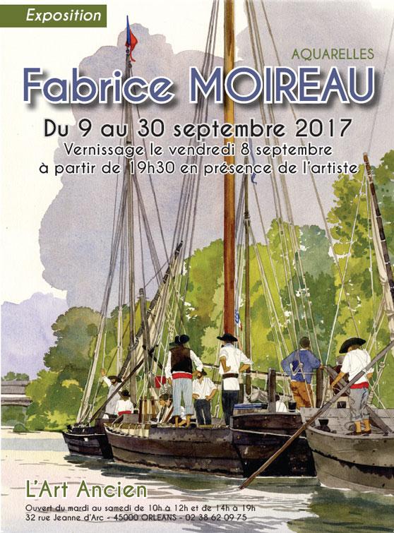 Fabrice MOIREAU du 9 au 30 Septembre 2017