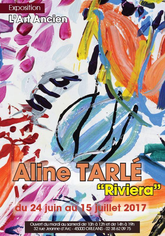 "Aline TARLÉ ""Riviera"" du 24 juin au 15 juillet 2017"