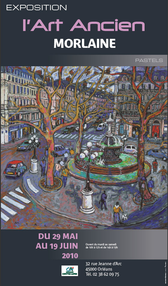 Exposition Morlaine, Galerie l'Art Ancien